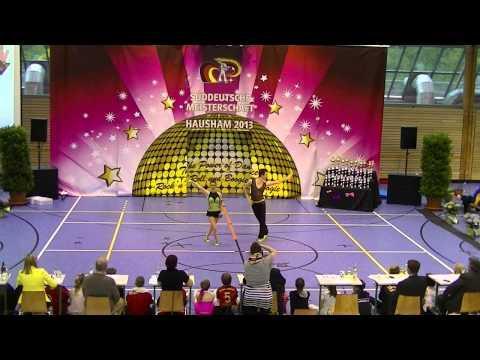 Anna-Lena Rekofsky & Kevin Geyer - Süddeutsche Meisterschaft 2013
