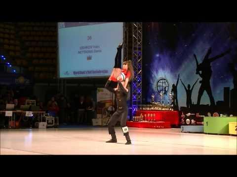 Daria Netskina & Ivan Ushkov - World Cup Zielona Gora 2012