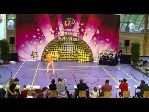 Kristin Palfreyman & Vitus Reiter - Süddeutsche Meisterschaft 2013