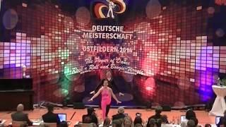 Julia Nicklas & Mathias Krieger - Deutsche Meisterschaft 2014