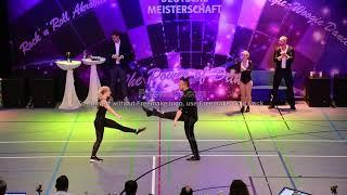 Lucy Wiedemaier & Andreas Meier, Deutsche Meisterschaft 2019