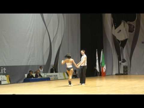Guylaine Golf & Florian Baron - World Masters Rimini 2012
