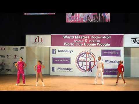 Mandorino - Mandorino (SUI) & Pluzhnikov - Firsova (UKR) - World Masters Moskau 2011