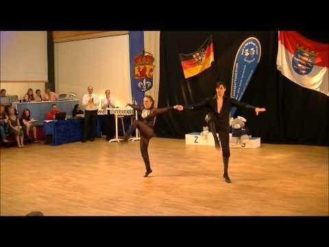 Christina Bischoff & Lukas Moos - Landesmeisterschaft Hessen 2012