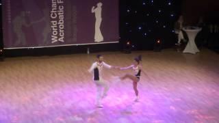 Amélie Galvez & Richard Cerutti - Weltmeisterschaft 2015