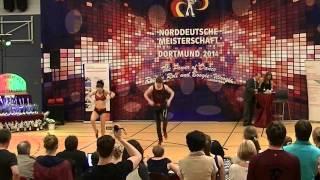 Chiara Pütz & Christopher Pütz - Norddeutsche Meisterschaft 2014