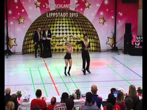 Melanie Franke & Tobias Bludau - Deutschland Cup 2013