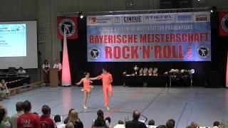 Julia Nicklas & Mathias Krieger - Bayerische Meisterschaft 2014