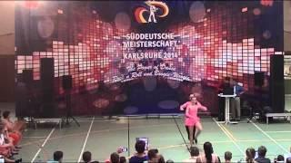 Antonia Schmid & Julian Minks - Süddeutsche Meisterschaft 2014