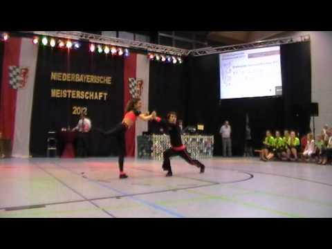 Julia Weigel & Alexander Jobst - Niederbayerische Meisterschaft 2012