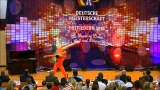Julia Geishauser & Patrick Pfaller - Deutsche Meisterschaft 2014