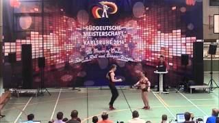 Chiara Pütz & Christopher Pütz - Süddeutsche Meisterschaft 2014