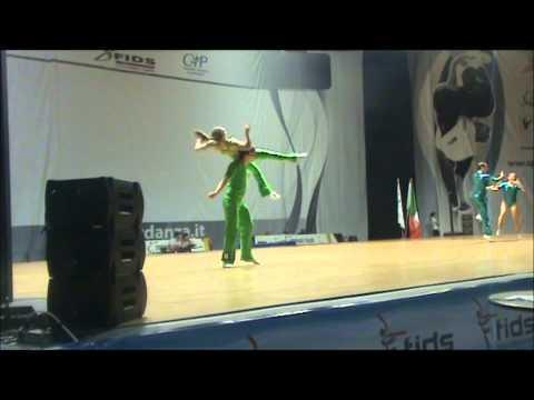Christina Bischoff & Lukas Moos - World Masters Rimini 2012