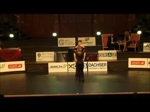 Akrobatikfinale B- Klasse - World Cup B Graz 2012