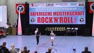 Michaela Mayer & Maximilian Lohr - Bayerische Meisterschaft 2014