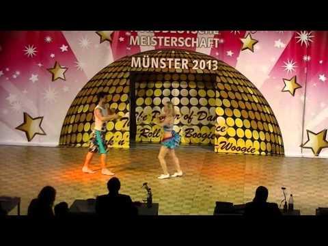 Kim Geiger & Patrick Strauß - Norddeutsche Meisterschaft 2013