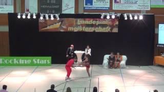 Jana Köder & Alexander Vesel - LM Baden-Württemberg & Hessen 2017