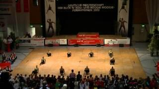 Royal Dancers - Deutsche Meisterschaft 2013