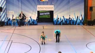 Johanna Weber & Stefan Nuscheler - Nordbayerische Meisterschaft 2015