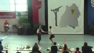 Pia Eibl & Dieter Eibl - Ländle Cup 2015