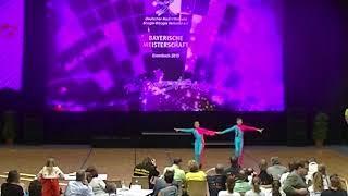 Theresa Honig & Maxim Taach - Landesmeisterschaft Bayern 2019