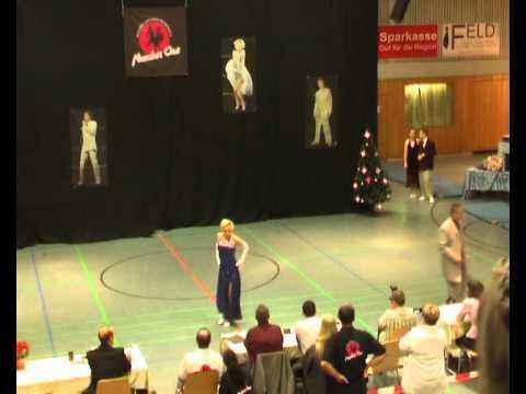 Sylvia Gauß & Karl-Heinz Stahl - Sinter Claas Cup 2011