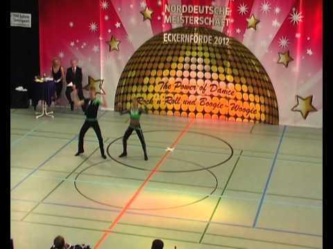 Laura Lükermann & Jonas Lükermann - Norddeutsche Meisterschaft 2012