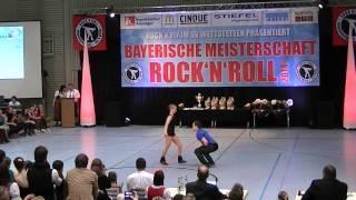 Anja Westermayer & Lorenz Rädler - Bayerische Meisterschaft 2014