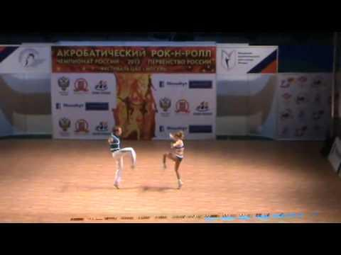 Anna Avdeeva & Alexei Panferov - Russische Meisterschaft 2013