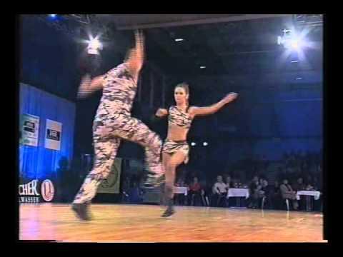 Sandie Lille-Palette & Carlos Estévez - Weltmeisterschaft 2002