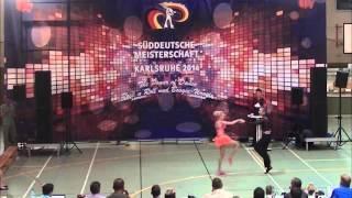 Nadine Mattis & Marco Schmidberger - Süddeutsche Meisterschaft 2014