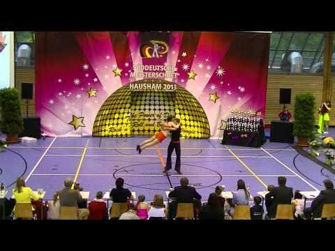 Sabrina Walgenbach & Moritz Schneider - Süddeutsche Meisterschaft 2013