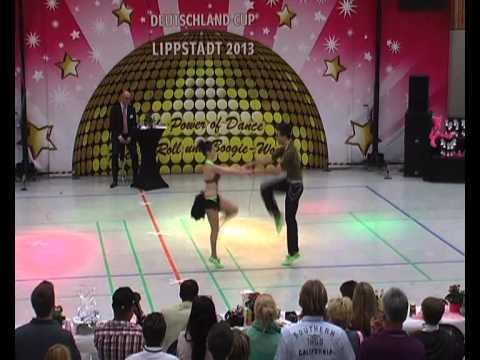 Anna-Lena Rekofsky & Kevin Geyer - Deutschland Cup 2013