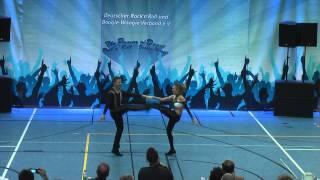 Nadine Mattis & Marco Schmidberger - Hupfadn Turnier 2015