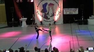 Lara Ritter & Vincent Ludwig - Nordbayerische Meisterschaft 2014