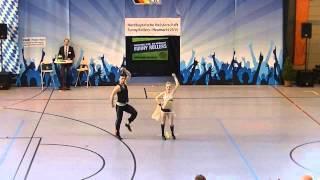 Franziska Schmidt & Paul Weiland - Nordbayerische Meisterschaft 2015