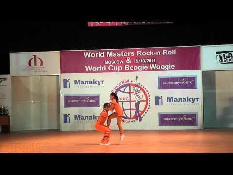 Leslie Hsieh & Richard Cerutti - World Masters Moskau 2011