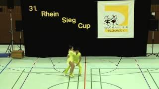 Tabea Gagelmann & Jonas Gagelmann - 31. Rhein-Sieg-Cup 2013