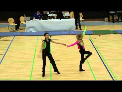 Madita Kudla & Leon Weber  - 12.Allercup 2012