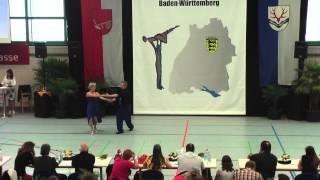 Gisela Burgemeister & Jörg Burgemeister - LM Baden-Württemberg & Hessen 2015