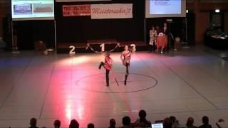 Anna-Lena Lindner & Nico Schambeck - Schwäbische Meisterschaft 2013