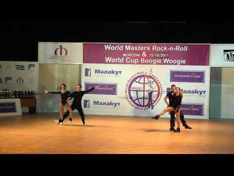 Baron - Golf (FRA) & Batyrshin - Mukhina - World Masters Moskau 2011