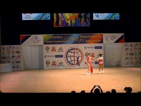 Anna Miadzielec & Jacek Tarczylo - Weltmeisterschaft 2012