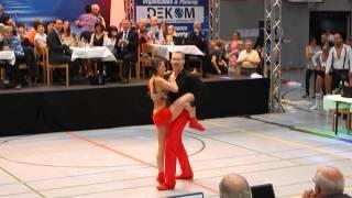 Julia Geishauser & Patrick Pfaller - Deutsche Meisterschaft 2015