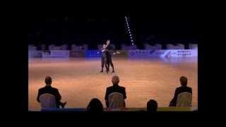 Christina Bichoff-Moos & Lukas Moos - World Dance Sport Games 2013