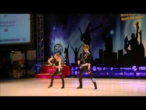 Anna Avdeeva & Alexei Panferov - World Masters Zielona Gora 2012 Rock´n´Roll