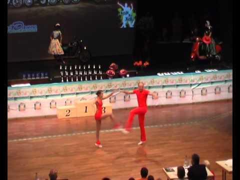 Caroline Scherer & Benjamin Federl - Süddeutsche Meisterschaft 2011