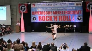 Anja Gentner & Christian Gartmeier - Bayerische Meisterschaft 2014