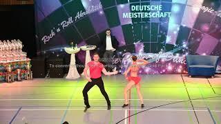 Julia Forberger & Maximilian Senftleben - Deutsche Meisterschaft 2019