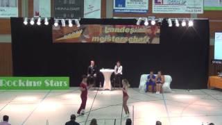 Carolin Steinberger & Tobias Planer - LM Baden-Württemberg & Hessen 2017